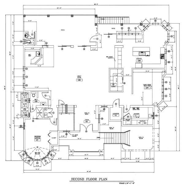 Casa Bella Vista Floor Plans